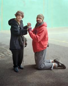 Jessie and Michael, New York, NY, 2013, Photograph by Richard Renaldi