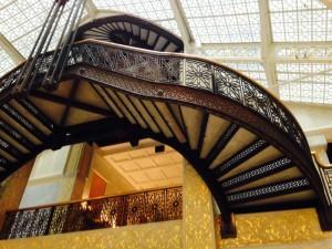 Twisting staircase, no guarantees