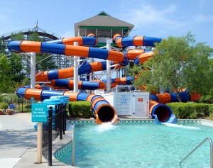 water park ride play