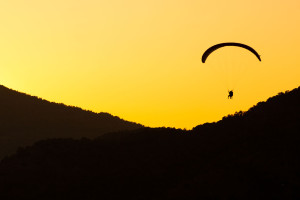 paragliding, fearlessness