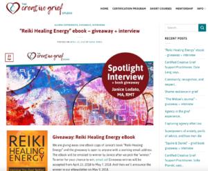 Creative Grief Studio blog post
